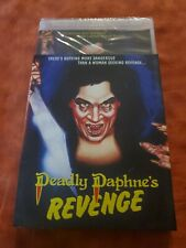 Deadly Daphne's Revenge Blu-Ray/DVD with LE Slipcover Vinegar Syndrome OOP NEW