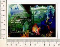 36811) Grenada Gren. 1995 MNH New French Angelfish