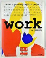 "Tetenal WORK Colour Photo Paper 310 12 x 16"" (30.5 x 40.6cm) 10 sheets  #SA75-19"