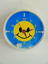 Retro Smiley Face Clock Quartz Battery Circa 1980