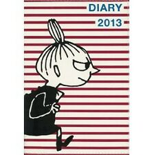 MOOMIN DIARY 2013 cover design by NIMES LITTLE MY x red border Book