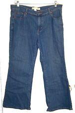 Venezia Blue Jean Denim Jeans Stretch Flare Pants Sz 18P