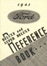 FORD 1941 De Luxe & Super De Luxe Car Owner's Manual 41