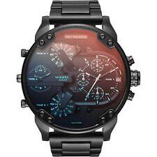 Orologio da uomo DZ7395 DIESEL Mr. Daddy 2.0 Nero/Rosso iridescente CHRONO INOX