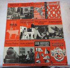 Lot of 12 LITTLE WONDER BOOKS  Charles E Merrill  1957 Paperbacks