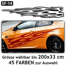 Flames Car Sticker Car Tuning Styling Hot Fire Design . SF-14