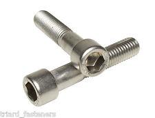 M8 x 80 Stainless Steel Allen Bolts, Socket Caps, DIN 912 - 2PK - Freepost