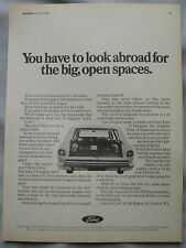 1968 Ford Fairmont Original advert