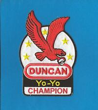 Duncan Yo Yo Champion Hat Jacket Hoodie Backpack Patch Crest Badge