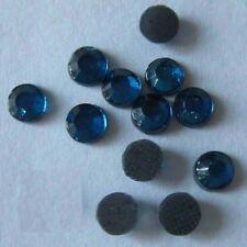 Rhinestone Hot Fix Iron on SS16 (4mm), Glass Material Rhinestone Navy 1gr/144pcs