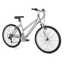 "Kent Terra 2.6 - 26"" Ladies Mountain Bike 21 Speed - Silver"