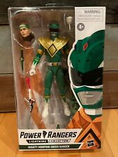 Mighty Morphin Power Rangers Lightning Collection Green Tommy Oliver Figure FLAW