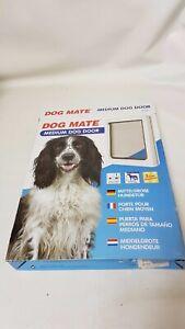 Dog Mate 215W Medium Dog Door - White