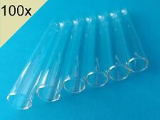 100x Borosilicate Glass Test Tubes (12mm x 75mm) - SPECIAL