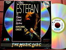 GLORIA ESTEFAN  Homecoming Concert  / ORIGINAL 1989 US LaserDisc Mint-! SHRINK