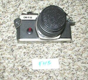 VINTAGE OLYMPUS OM-4T 35MM SLR FILM CAMERA w/ 50MM LENS (FH5)