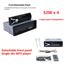 Detachable HD Car Auto DVD MP3 Player Bluetooth USB / SD Stereo FM / AM Radio
