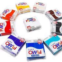 FIMO Soft Polymer Modelling Clay - 10 x 57g Clays - The 10 Most Popular Colours