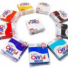 Fimo Soft Polymer Modelling Clay - 10 x 57 G argiles-Les 10 plus couleurs populaires