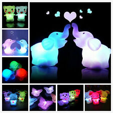 Color Changing LED Night Light Lamp Home Kids Baby Room Wedding Decor Toy Gift