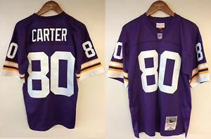 Cris Carter Minnesota Vikings #80 Mitchell & Ness NFL 1995 Authentic Jersey