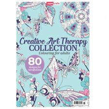 Creative Art Therapy COLLECTIONS Coloring Book for Adults Super Crafts