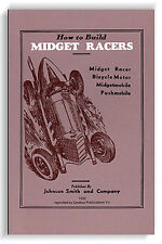 How to Build Midget Racers (1936) (Lindsay how to book)