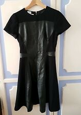 Ted Baker Real Leather Paneled Dress, size 1 or UK8 - brand new, RRP £285