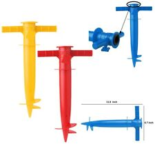 1PC Beach Umbrella Anchor Stand Spike Auger Holder Heavy Duty Adjustable Tools