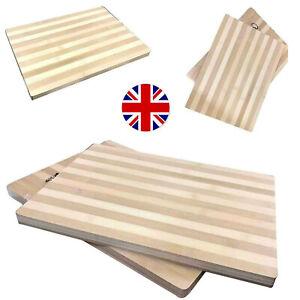 Bamboo Wood Large Kitchen Slicing Dicing Cutting Wooden Food Chopping Board UK