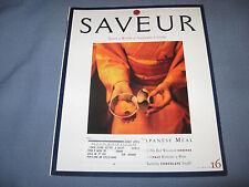 SAVEUR #16  JANUARY/FEBRUARY 1997 EXQUISITE JAPANESE MEAL KAISEKI MODERN RECIPES