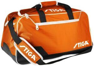 Table Tennis Bag: Stiga Stage Bag – Orange/Black