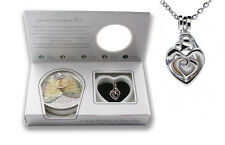 PEARLINA Mother Child Mom Necklace Pendant Cage Genuine Love Pearl in Oyster Kit