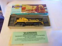 HO Scale Athearn Santa Fe GP-35 Locomotive #3221 Blue Box BNOS