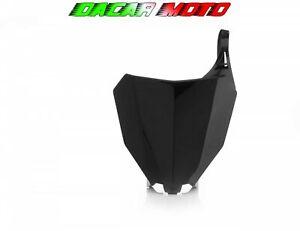 Mesa Número de Matrícula Delantero ACERBIS Negro Honda Crf 250 R 2018