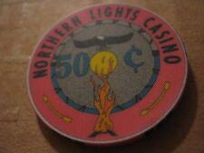 Vintage Potawatomi Carter Wisconsin Northern Lights Casino $.50 Casino Chip