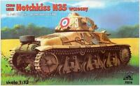 HOTCHKISS H 35 EARLY (FRENCH ARMY 1939-1940 MARKINGS)#72216 1/72 RPM