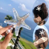 NEW Starfish Pearl Hair Clip Hairband Comb Bobby Pin Barrette Hairpin Headdress