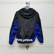 Tommy Hilfiger Athletic Gear Windbreaker Sail Jacket Rain Full Zip Hood Large