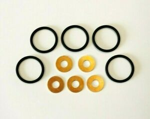 Land Rover Defender/Discovery 2 TD5 Injector Sealing Kit. O ring & Copper Washer