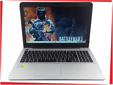 """15.6"""" ASUS X555 Gaming Laptop Core i7 up to 3.1GHz 8GB 250GB SSD GeForce Win10"""