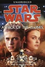 Attack of the Clones by R. A. Salvatore (2002, Cassette, Unabridged)
