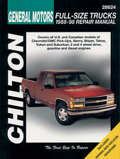 Chilton Repair Manual Chevrolet Pick-ups, 1988-98   #28624