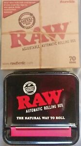 RAW Automatic metal Cigarette Rolling Machine 70mm Single Wide Size