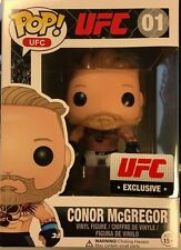 RARE ORIGINAL Conor Mcgregor Funko Pop UFC 194 Exclusive vinyl le (white shorts)