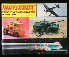 Matchbox Collectors Catalogue 1974 Lesney Products USA Edition - VG condition