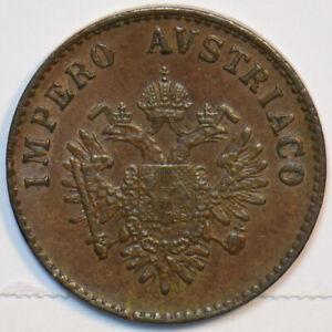 Italy 1852 M 5 Centesimi Lombardy 491258 combine shipping