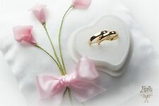 personalised wedding ring cushions wedding ring pillow 6c pink calla