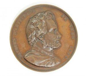 France 19c Jacques D'Artevelde Jacob van Artevelde Born 1290 Medal