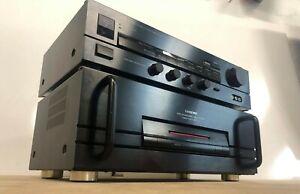 ONKYO M-5000 Power Amplifier & ONKYO P-3200 Stereo Preamplifier Good Condition !